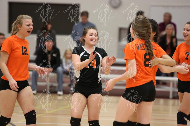 Burns Photography 15 10 22 Freshman Girls Volleyball